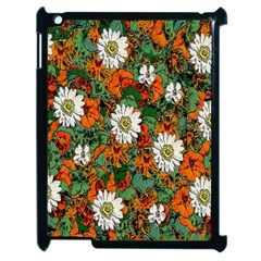 Flowers Apple iPad 2 Case (Black)