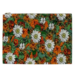 Flowers Cosmetic Bag (xxl)