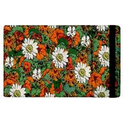 Flowers Apple iPad 3/4 Flip Case