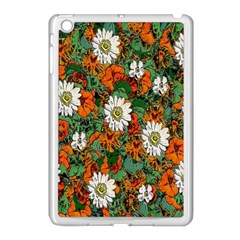 Flowers Apple Ipad Mini Case (white)