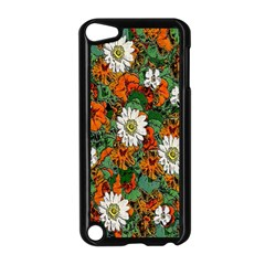 Flowers Apple iPod Touch 5 Case (Black)