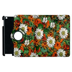 Flowers Apple iPad 2 Flip 360 Case