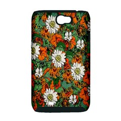 Flowers Samsung Galaxy Note 2 Hardshell Case (PC+Silicone)
