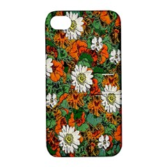 Flowers Apple iPhone 4/4S Hardshell Case with Stand