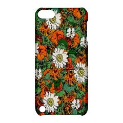 Flowers Apple iPod Touch 5 Hardshell Case with Stand