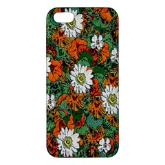 Flowers Apple Iphone 5 Premium Hardshell Case