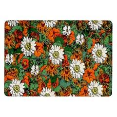 Flowers Samsung Galaxy Tab 10 1  P7500 Flip Case