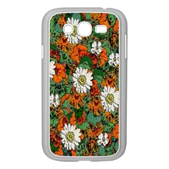 Flowers Samsung Galaxy Grand Duos I9082 Case (white)