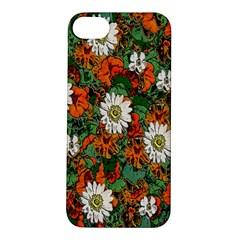 Flowers Apple Iphone 5s Hardshell Case