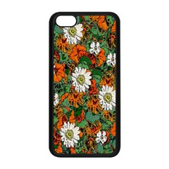 Flowers Apple iPhone 5C Seamless Case (Black)