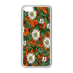 Flowers Apple iPhone 5C Seamless Case (White)