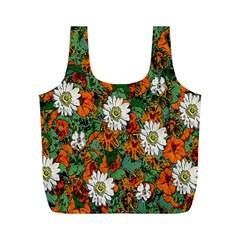 Flowers Reusable Bag (m)
