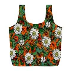 Flowers Reusable Bag (L)