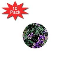 Garden Greens 1  Mini Button Magnet (10 pack)