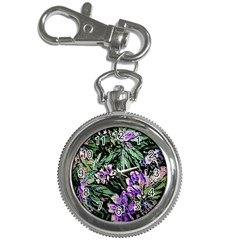 Garden Greens Key Chain Watch