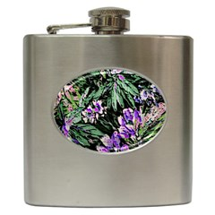 Garden Greens Hip Flask