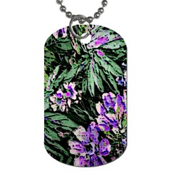 Garden Greens Dog Tag (two Sided)