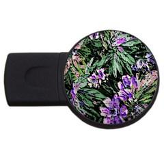 Garden Greens 2GB USB Flash Drive (Round)