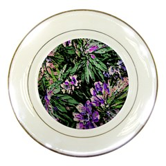 Garden Greens Porcelain Display Plate