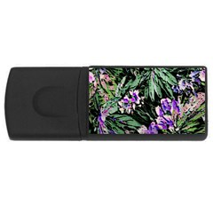 Garden Greens 4GB USB Flash Drive (Rectangle)