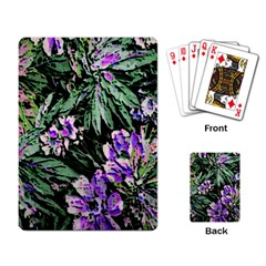 Garden Greens Playing Cards Single Design