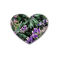 Garden Greens Drink Coasters 4 Pack (Heart)