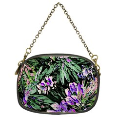 Garden Greens Chain Purse (one Side)