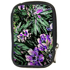 Garden Greens Compact Camera Leather Case