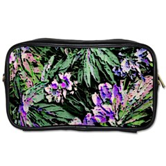 Garden Greens Travel Toiletry Bag (two Sides)