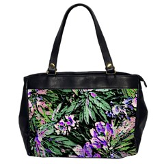 Garden Greens Oversize Office Handbag (Two Sides)