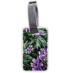 Garden Greens Luggage Tag (Two Sides)