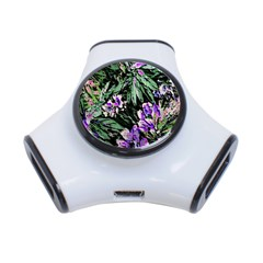 Garden Greens 3 Port USB Hub