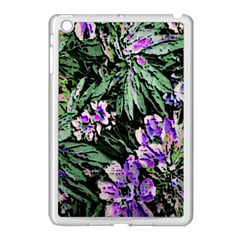 Garden Greens Apple iPad Mini Case (White)