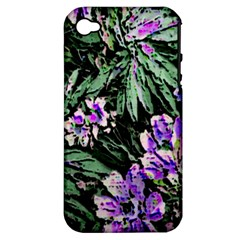 Garden Greens Apple iPhone 4/4S Hardshell Case (PC+Silicone)