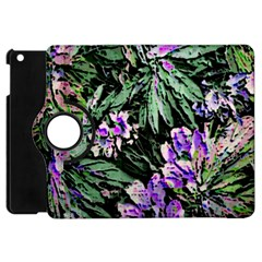 Garden Greens Apple Ipad Mini Flip 360 Case