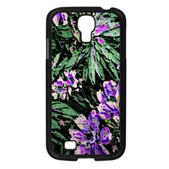 Garden Greens Samsung Galaxy S4 I9500/ I9505 Case (Black)