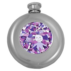 Fms Confusion Hip Flask (Round)