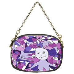 Fms Confusion Chain Purse (Two Sided)