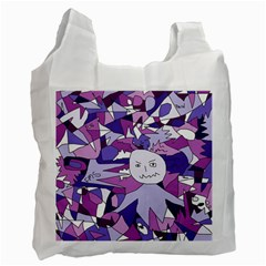 Fms Confusion White Reusable Bag (One Side)