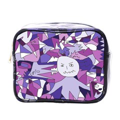 Fms Confusion Mini Travel Toiletry Bag (One Side)