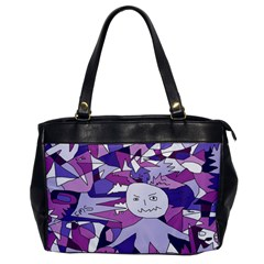Fms Confusion Oversize Office Handbag (one Side)