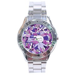 Fms Confusion Stainless Steel Watch