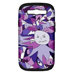 Fms Confusion Samsung Galaxy S Iii Hardshell Case (pc+silicone)