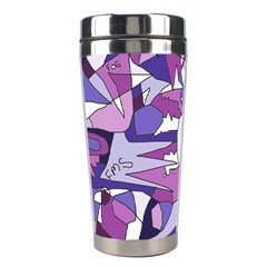 Fms Confusion Stainless Steel Travel Tumbler