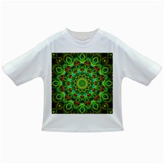 Peacock Feathers Mandala Baby T Shirt