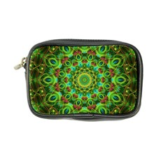 Peacock Feathers Mandala Coin Purse