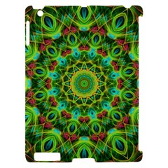 Peacock Feathers Mandala Apple iPad 2 Hardshell Case (Compatible with Smart Cover)