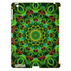 Peacock Feathers Mandala Apple iPad 3/4 Hardshell Case (Compatible with Smart Cover)