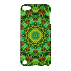 Peacock Feathers Mandala Apple Ipod Touch 5 Hardshell Case