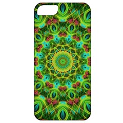 Peacock Feathers Mandala Apple iPhone 5 Classic Hardshell Case